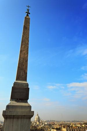 spanish steps: Egyptian Obelisk at the Spanish Steps