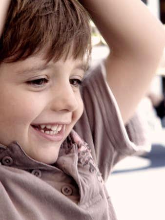 prep: happy boy