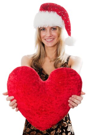 The lady with a plush heart  photo