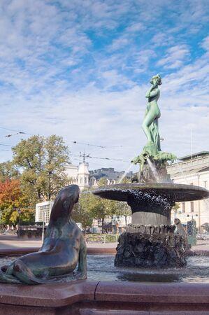 amanda: Fountain Havis Amanda in Helsinki