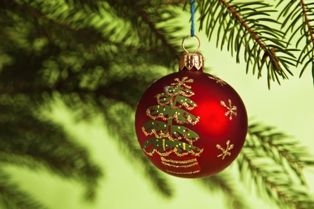 New Year's and Christmas ornaments Stock Photo - 8348331