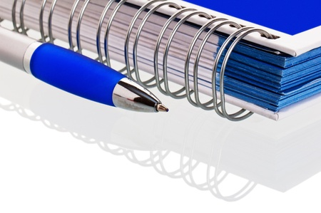 Pencil with a notebook. A close up Stock Photo - 8554768