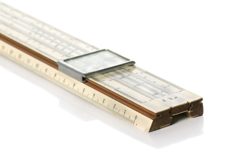 logarithmic: Slide rule
