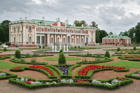 estonia: Park before a palace