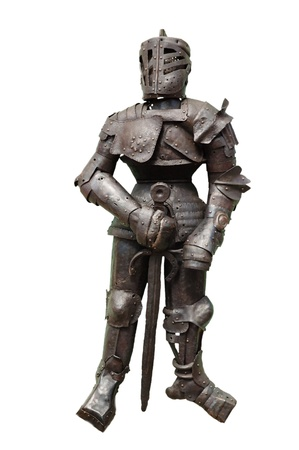 knightly: Knightly armour Stock Photo