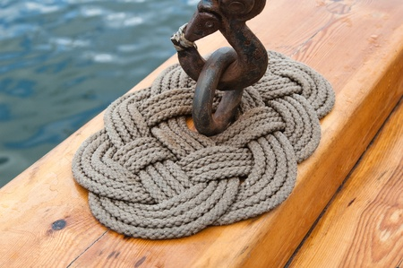 wire rope: Old sailing ship masts and sails and rigging
