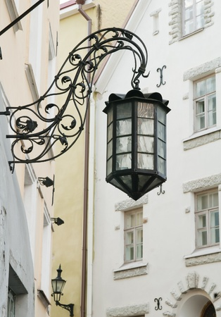 the old street lamp photo