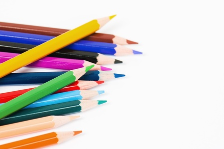 Color pencils Stock Photo - 11602196