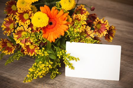 floral arrangement: a bouquet of summer flowers, close-up