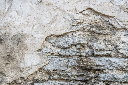crumbling: The old crumbling plaster, background