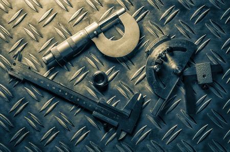 measuring instruments: Older Engineering Measuring Instruments, close-up