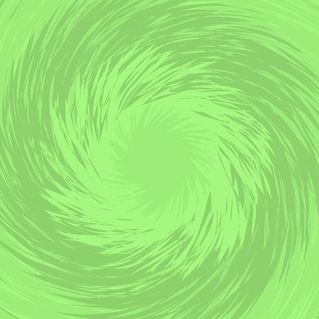 Light background with fresh spirally twisted green grass. Top view of lawn. Backdrop for spring and summer design. Flat vector illustration.