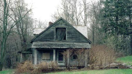 run down: Old Run down House