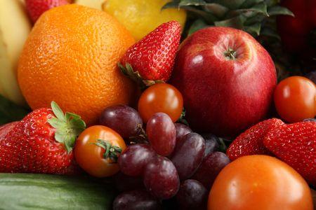 Fruit bowl Stock Photo