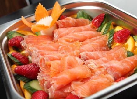 Fish platter Stock Photo