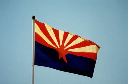 Arizona Flag Фото со стока