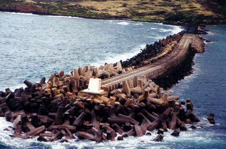 barrier: Barrier Reef In Hawaii Stock Photo