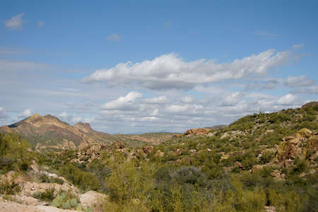 Superstition Trail Arizona Banco de Imagens