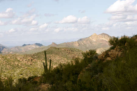 superstitions: Superstition Mountain Trail Arizona