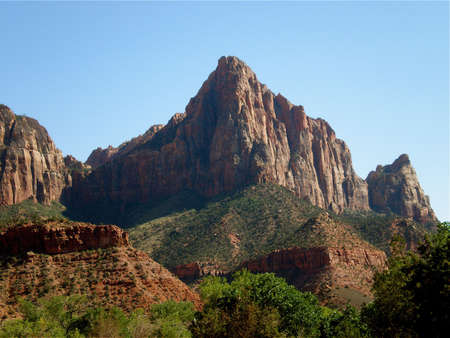 The Watchman Mountain in Zion