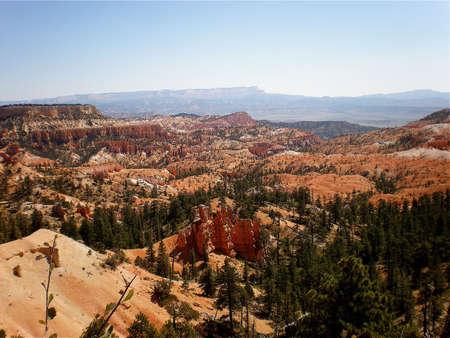 hoodoos: Bryce Canyon hoodoos in Utah Stock Photo