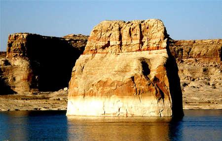 Lone Rock in Lake Powell