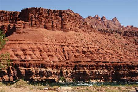 Colorado River in Arizona Stock fotó