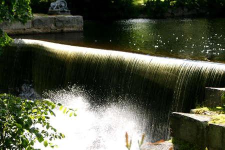 Waterfall in New Hampshire Stock fotó