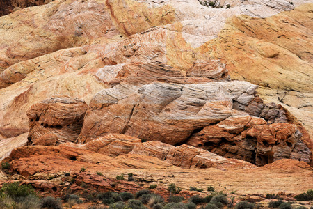 Scenic Valley of Fire State Park near Las Vegas, Nevada