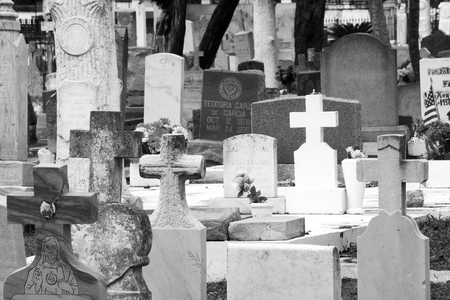 Image of Historic Old City Cemetery in Brownsville, Texas 版權商用圖片
