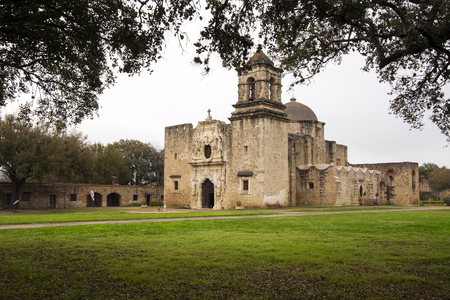Mission San Jose in San Antonio, Texas.