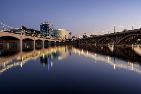 Mill Street Bridge in Tempe, Arizona