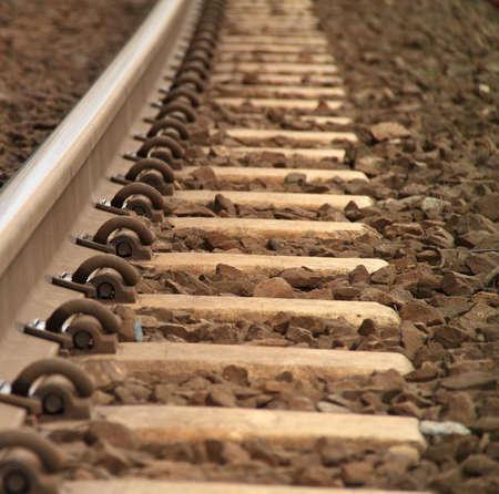 Railway Tracks   Stock Photo - 16628052