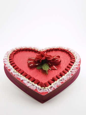 Photo of a box of chocolates for valentines