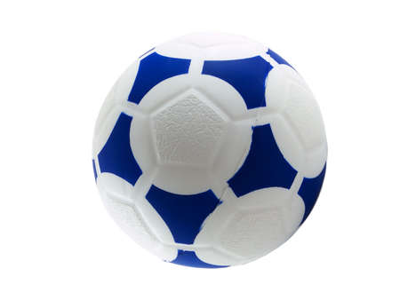 Photo of a soccer ball isolated on white Stock Photo - 839981
