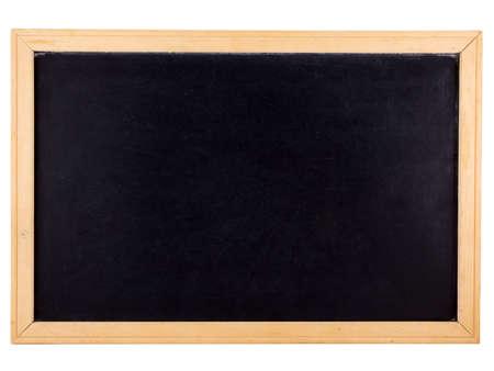 白で隔離される黒板の写真 写真素材