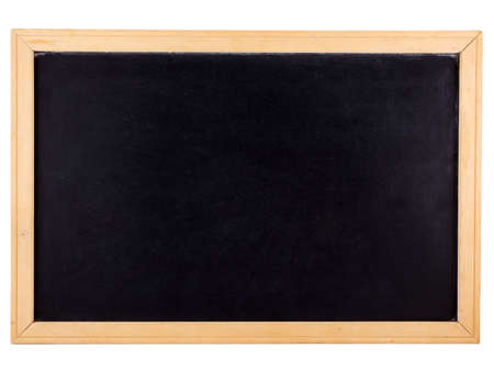 Photo of a chalkboard isolated on white Stock Photo