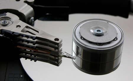 ハードドライブクローズアップの写真