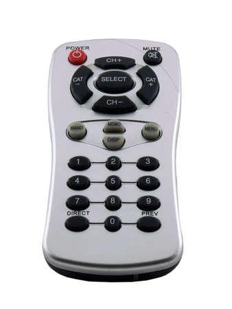 ラジオやテレビ、白で隔離されるためのリモート コントロール