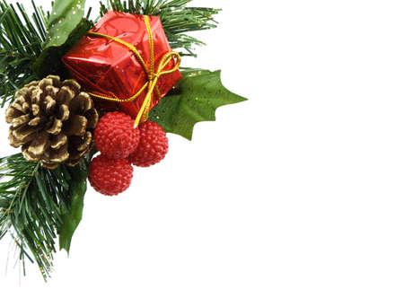 Christmas decoration isolated on a white background Stock Photo