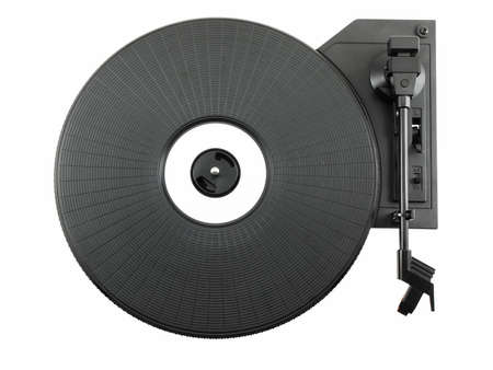 Turntable isolated on a white back ground