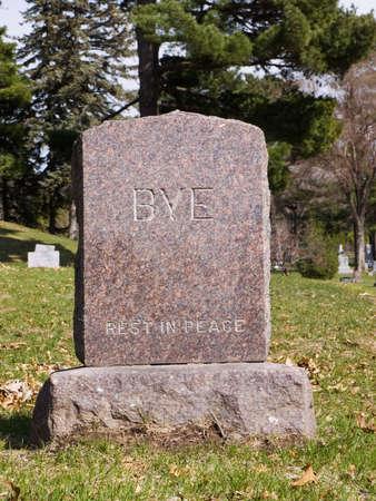 平和廃棄 (tombstone) の残りの部分します。