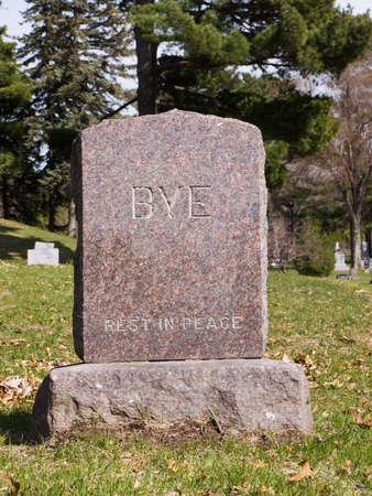 headstones: Rest in peace tombstone