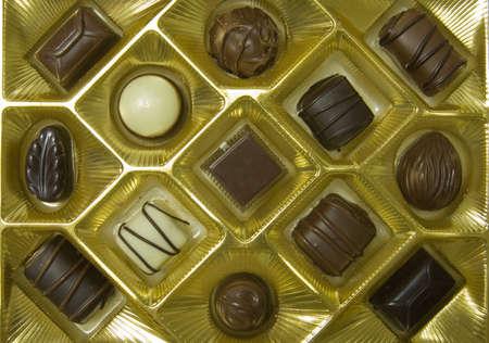 Valentines chocolate assortment