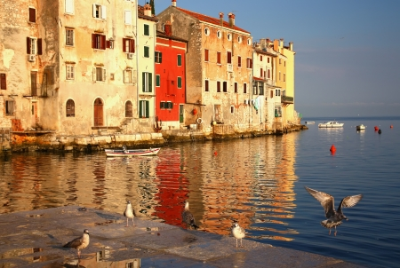 Rovinj (Rovigno), Croatia, Europe Stock Photo