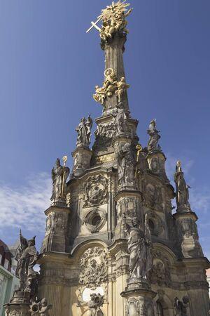 unicef: La Colonna della Santissima Trinità a Olomouc è un monumento barocco della Repubblica Ceca