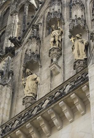 olomouc: Saint Wenceslas Cathedral in Olomouc  Czech Republic  Stock Photo