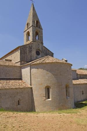 vacance: Abbazia di Thoronet dall'ordine cistercense in Francia