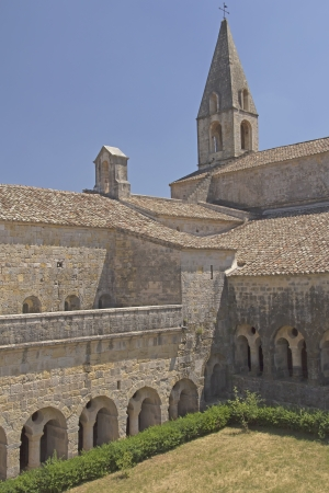 vacance: Thoronet Abbey from the Cistercian order in France   Stock Photo