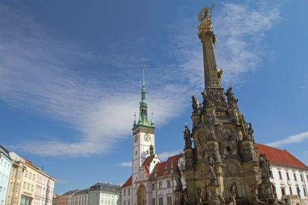 The historical center of Olomouc